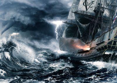 VOC Ship Storm