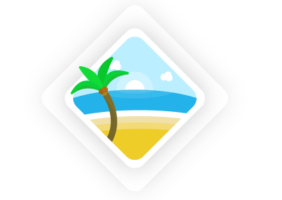 tropical-dribbble